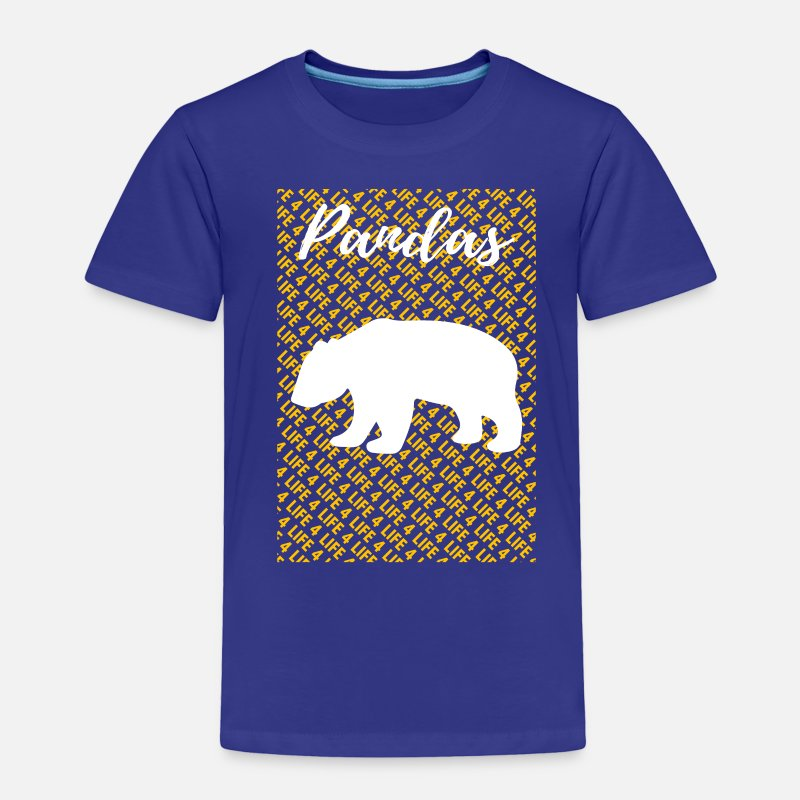e118d47c Bear Cat Panda Shirt Toddler Premium T-Shirt - royal blue