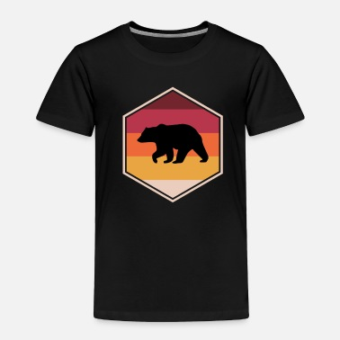 Anime Fancy Bear Gift Idea For Boys - Toddler Premium T-Shirt