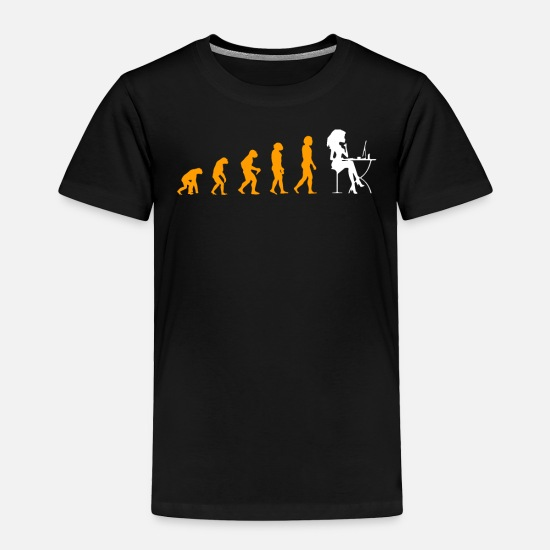 Blog Baby Clothing - Evolution Of Blogging Great T-Shirt - Toddler Premium T-Shirt black