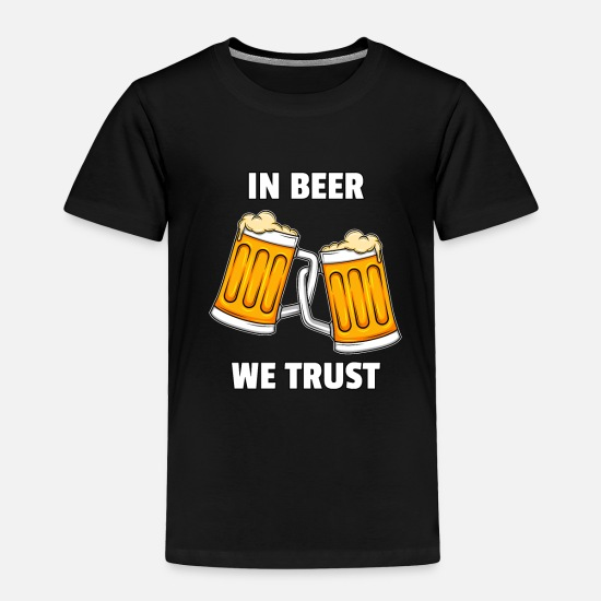Black Baby Clothing - beer pilsner alcohol Octoberfest malt men drinking - Toddler Premium T-Shirt black