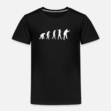 Evolution Of Security Guards - Security Guard T Sh - Toddler Premium T-Shirt