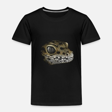 Leopard Leopard Gecko Lizard Drawing Reptile Artwork Gift - Toddler Premium T-Shirt