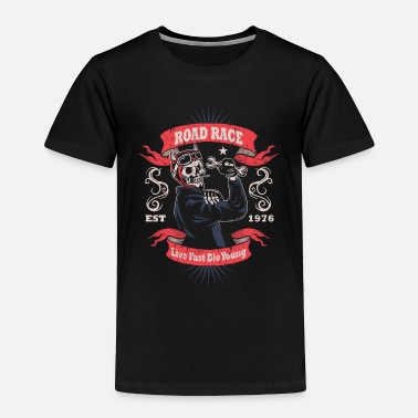 Racing Motorcycle Motorcycle Race - Toddler Premium T-Shirt