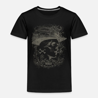 Womens Face Vintage faces women skull hat - Toddler Premium T-Shirt