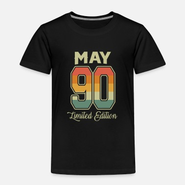 Congratulations Vintage 30th Birthday May 1990 Sports Gift - Toddler Premium T-Shirt