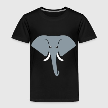 angry elephant - Toddler Premium T-Shirt