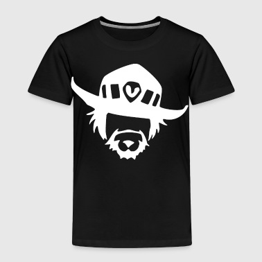 mcCree cowboy - Toddler Premium T-Shirt