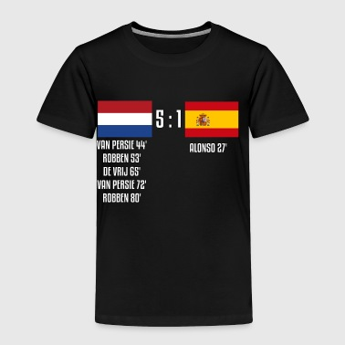 Netherlands 5-1 Spain - Toddler Premium T-Shirt