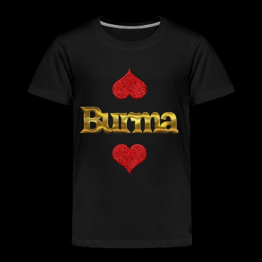 Burma - Toddler Premium T-Shirt