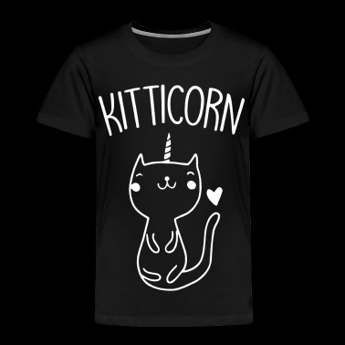 Kitticorn Top Kitty Unicorn Love Sweet Girl - Toddler Premium T-Shirt