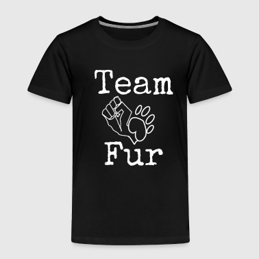 Team fur white - Toddler Premium T-Shirt
