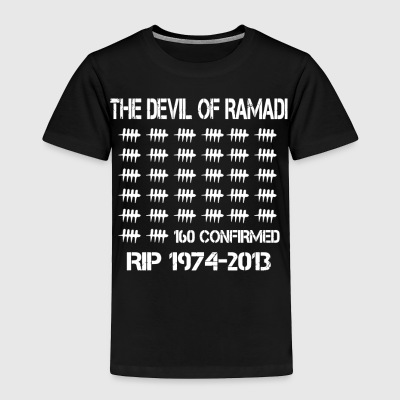 The Devil Of Ramadi - Toddler Premium T-Shirt