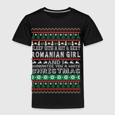 Sleep With Hot Sexy Romanian Girl White Christmas - Toddler Premium T-Shirt