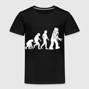 Evolution Ape to Robot - Toddler Premium T-Shirt