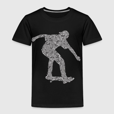 Cool Skateboarding Boarders Design - Toddler Premium T-Shirt
