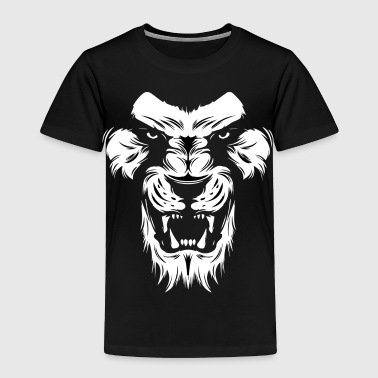 King of Jungle Lion - Toddler Premium T-Shirt