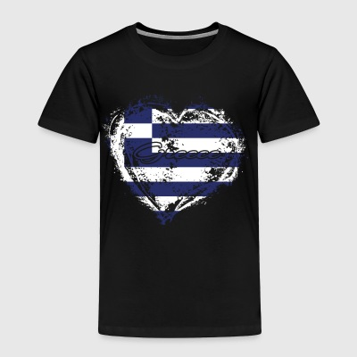 HOME ROOTS COUNTRY GIFT LOVE Greece - Toddler Premium T-Shirt