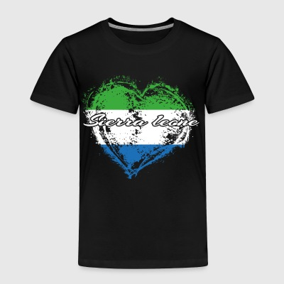 HOME ROOTS COUNTRY GIFT LOVE Sierra leone - Toddler Premium T-Shirt