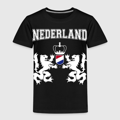 Netherlands coat of arms with laurel wreath - Toddler Premium T-Shirt