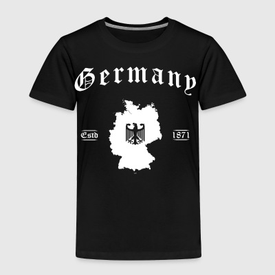 Germany map retro style - Toddler Premium T-Shirt