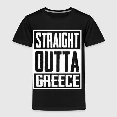 Straight Outta greece - Toddler Premium T-Shirt