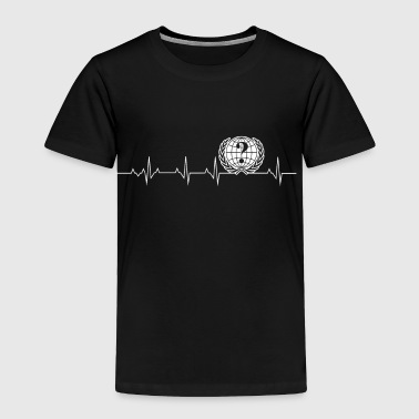 Anonymous Heartbeat - Toddler Premium T-Shirt