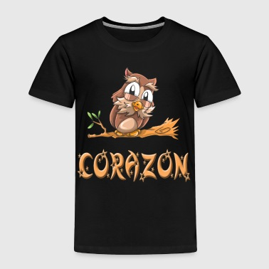 Corazon Owl - Toddler Premium T-Shirt