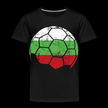 Bulgaria Soccer Football Ball - Toddler Premium T-Shirt