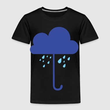 cloud rain umbrella - Toddler Premium T-Shirt