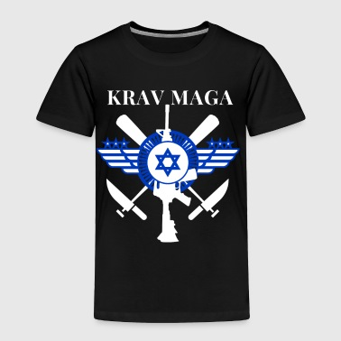 Krav Maga Sticks Knives Guns - Toddler Premium T-Shirt
