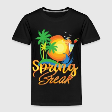 Spring Break Holiday Gift Idea - Toddler Premium T-Shirt
