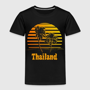 Thailand Sunset Palm Trees - Toddler Premium T-Shirt
