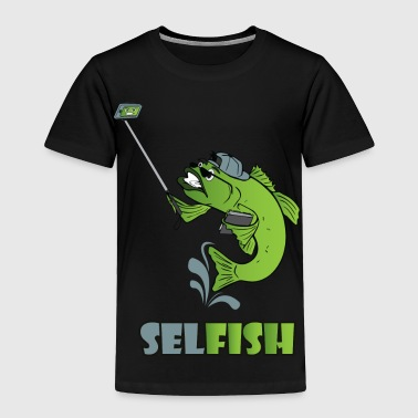 T shirt Selfish - Toddler Premium T-Shirt