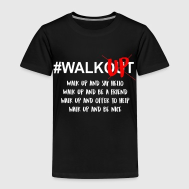 Walk up Not out - Toddler Premium T-Shirt