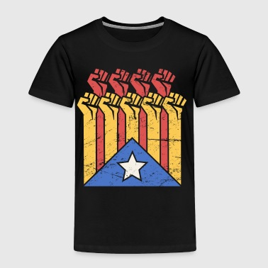 Independence For Catalonia | Catalunya Flag - Toddler Premium T-Shirt