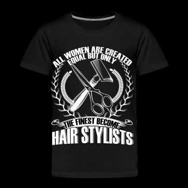 Become Hair Stylists T Shirt - Toddler Premium T-Shirt