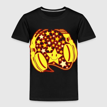 Headphones - Toddler Premium T-Shirt