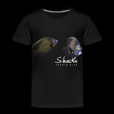 Angelfish - Shacks - Toddler Premium T-Shirt