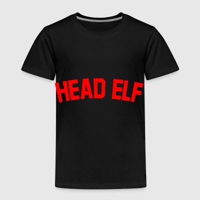Head Elf Christmas Gifts for Dad, Mum, Boss.Santa. - Toddler Premium T-Shirt