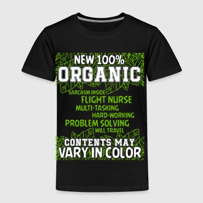 New Organic T Shirt - Toddler Premium T-Shirt