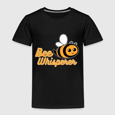 Bee lover bee whisperer nature fly insect funny - Toddler Premium T-Shirt