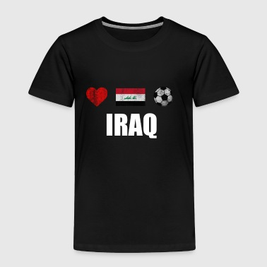 Iraq Football Shirt - Iraq Soccer Jersey - Toddler Premium T-Shirt