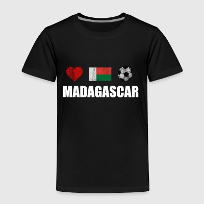 Madagascar Football Shirt - Madagascar Soccer Jers - Toddler Premium T-Shirt