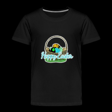 Easter basket of the Easter Bunny - Toddler Premium T-Shirt
