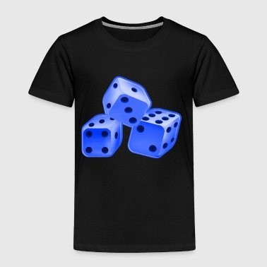 Dice blue - Toddler Premium T-Shirt