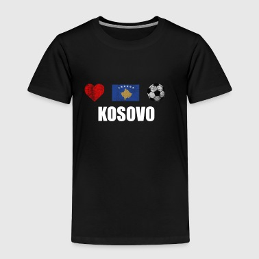 Kosovo Football Shirt - Kosovo Soccer Jersey - Toddler Premium T-Shirt