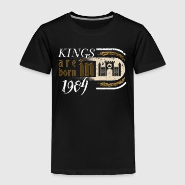 Gothic Birthday Kings Castle Born 1984 - Toddler Premium T-Shirt