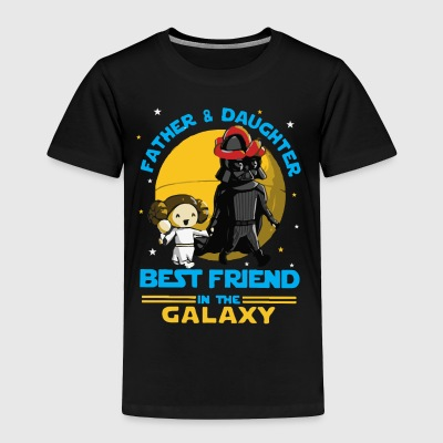 Father and Daughter in the Galaxy - Toddler Premium T-Shirt