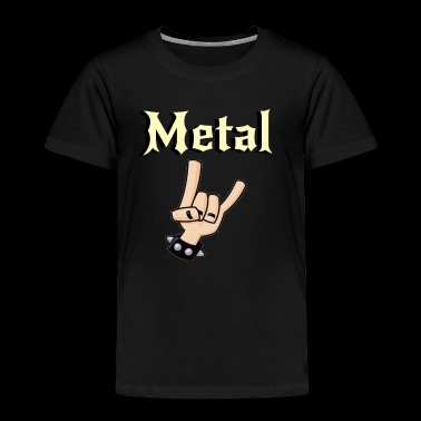 Metal Music Shirt - Gift For Metal Music Lovers - Toddler Premium T-Shirt
