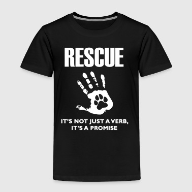 Rescue Dog Shirt - Toddler Premium T-Shirt